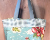 Hawaii Tote bag- Hawaii- Greetings from Hawaii- Cotton Tote- by beckyzimmdesign