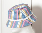 Colorful Womens 90s Bucket Hat