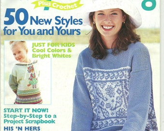 Family Circle Easy Knitting Magazine Spring Summer 2000
