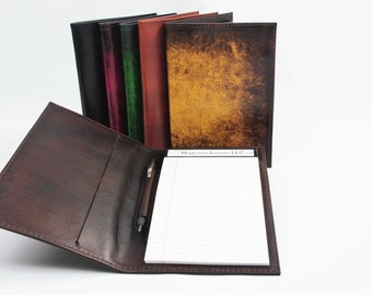 Small Leather Notebook v1