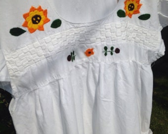 Vintage El Salvador Dress