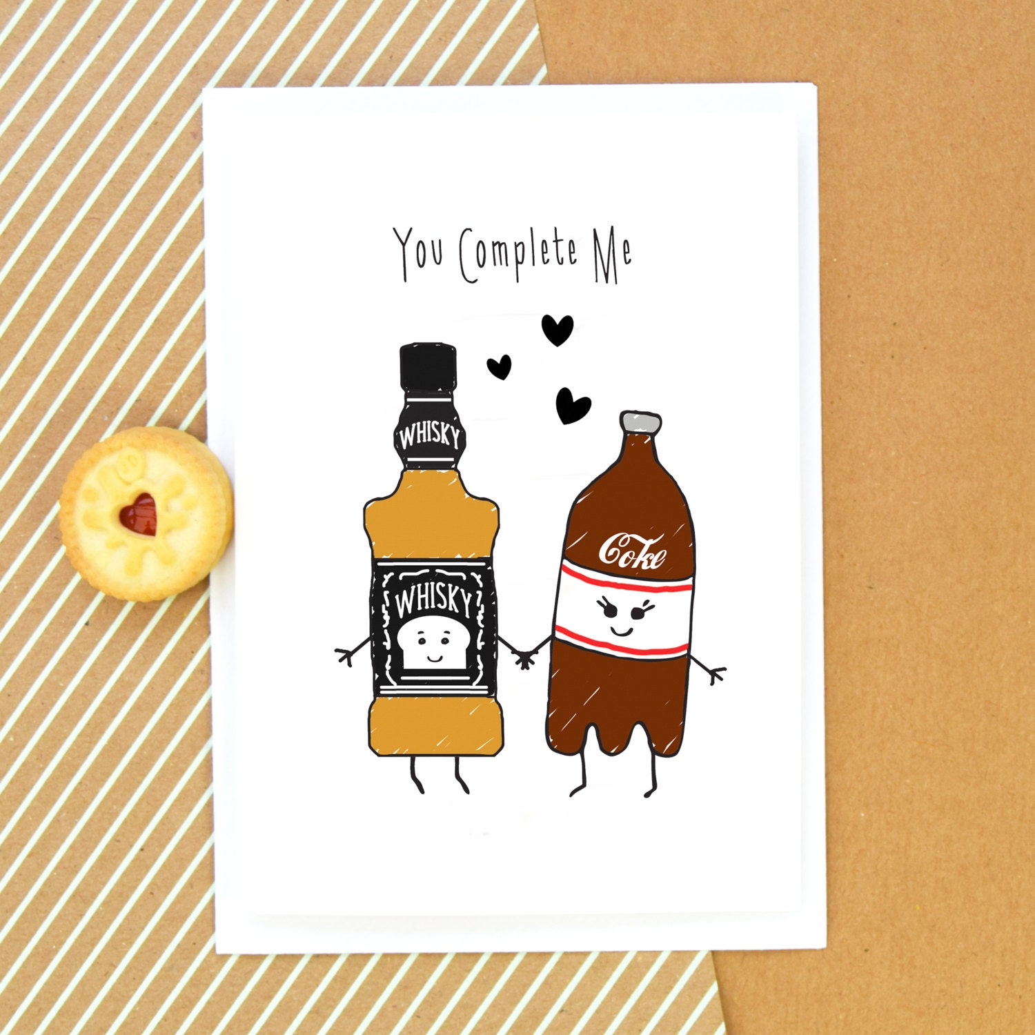 Whisky Card Birthday Card Funny Card Whiskey Anniversary