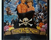 "Pirate Movie,The. 1982 Original 27""x41"" Vintage Movie Poster. Musical Comedy. Beautifu Art.Kristy McNichol,Christopher Atkins,Ted Hamilton"