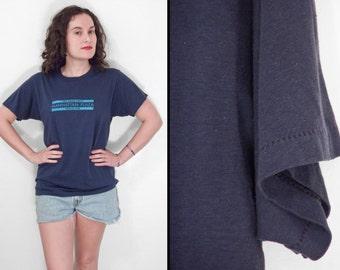 1984 Blood Drive Tee Manhattan Plaza Blue Shirt Unisex Size M / L last chance sale