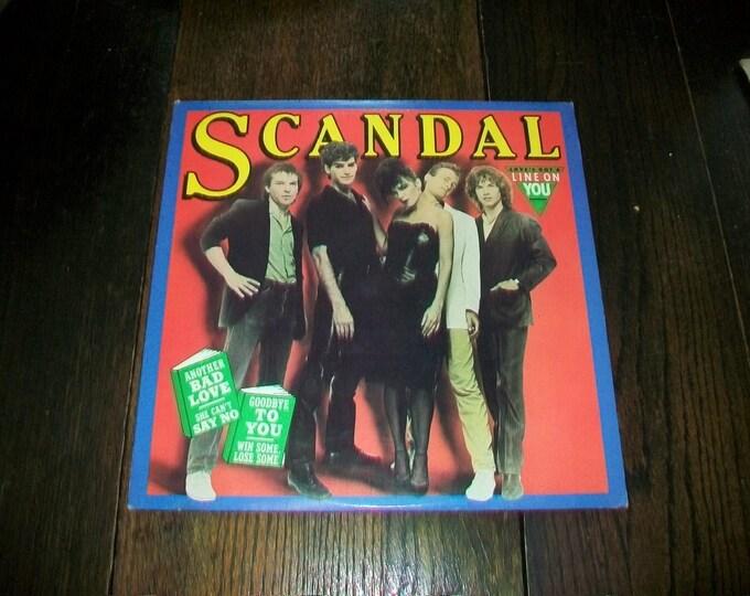 Scandal Love's Got A Line On You Vinyl LP Record Album 5C-38194 Vintage 1982