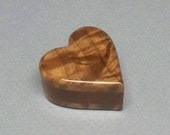Small Heart Urn 1/3 c.i., Small Wooden Box, Small Wooden Heart Urn, Small Urn