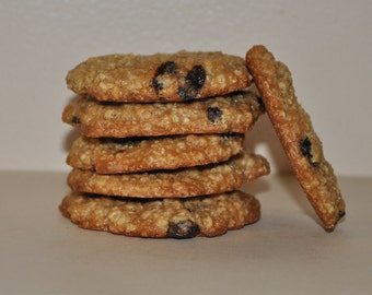 12  Oatmeal Raisins Cookies  Fresh  Healthy Snack Holiday Gift !