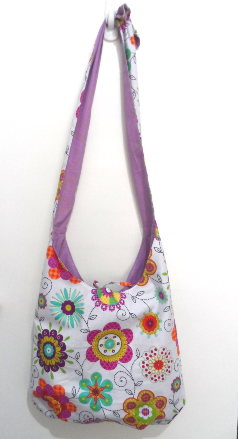 Hobo Bag Cross Body Bag Sling Bag Hippie Purse Hobo Purse Boho
