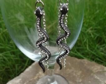 Snakebite Earrings