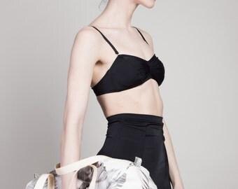 black high waist bikini