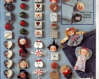 Buttons To Wear Quick Projects From Suzanne McNeill Design Originals No. 2225