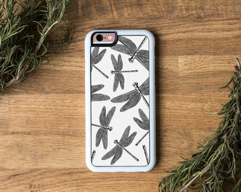 Dragonflies, Dragonfly, iPhone Case Vintage, Vintage iPhone, iPhone 6 Cover, iPhone 5 Case, iPhone 5C, Botanical, Insect, iPhone Bohemian