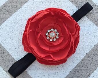 Cristmas headband~Elastic headband~Christmas gift~Flower girl headband~Photography prop~Photo prop~Christmas prop