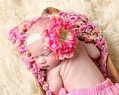 Baby Headband  ..Pink Headband