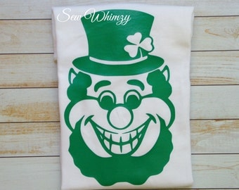St Patrick Day shirt or bodysuit- Leprechaun shirt