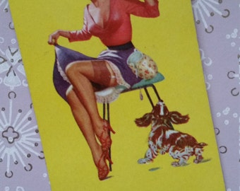 Kitsch Vintage Cheesecake Pin Up Playing Cards