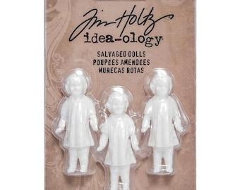 Salvaged Dolls - Tim Holtz - Idea-ology Collection