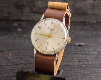 Vintage Raketa mens watch, vintage mens watch, soviet mechanical watch, vintage russian watch, ussr cccp