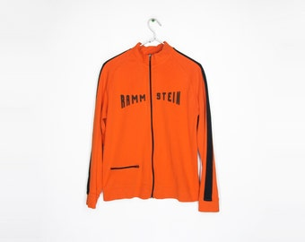 90s Rammstein Track Jacket