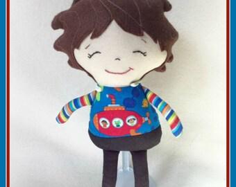 Cloth Litttle Boy Doll