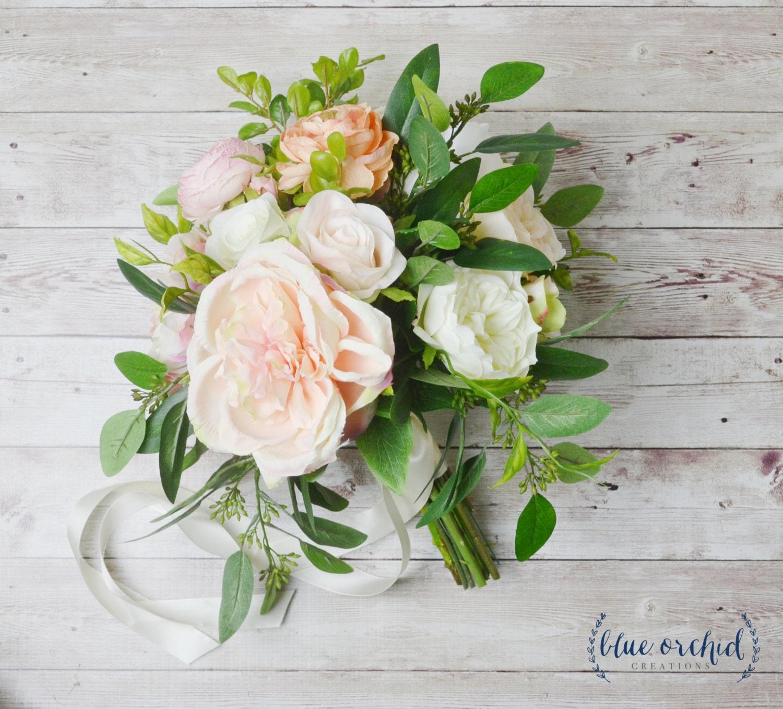 Boho wedding bouquet silk wedding bouquet peony bouquet zoom dhlflorist Gallery