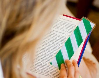 Harry Potter Paper Bookmark - Hogwarts House Slytherin Bookmark