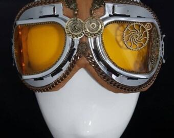 Burning Man Mad Max style Steam Punk Goggles