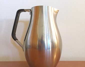 Vintage Reed and Barton Stainless Steel Pitcher