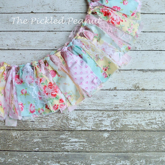 shabby chic bunting - photo #26