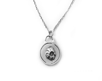 Barnacle Charm Necklace with Chain