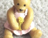 Vintage 3D Cake Topper Teddy Bear Teddy Bear figureNewRare1995