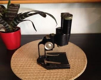 Antique Microscope (Stereoscope) - Early 1900's design - Ernst Leitz Wetzlar