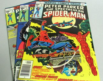 Peter Parker The Spectacular Spider-Man No. 6, No. 7, or No. 8, May, June, or July 1977, Marvel Comics