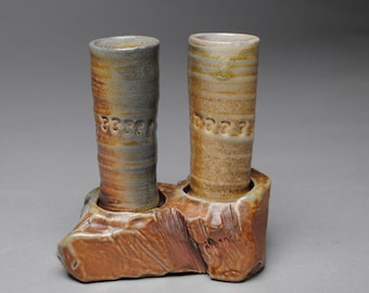 Shot Glass and Tray Set Wood Fired D58