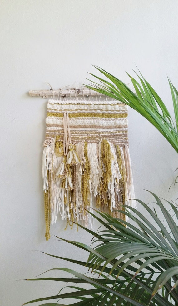 Woven Art Wall Hanging Weaved Wall Fiber Art Wall By