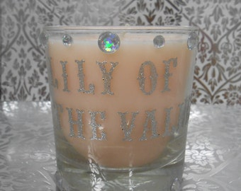 Small lilly of the valley candle