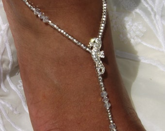 Barefoot Sandals Seahorse Foot Jewelry Anklets