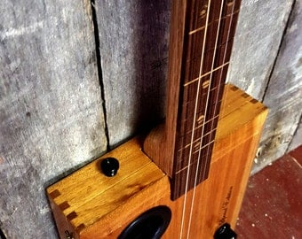 4-String Cigar Box Guitar Made from a Don Gonzalez Special Edition Cigar Box
