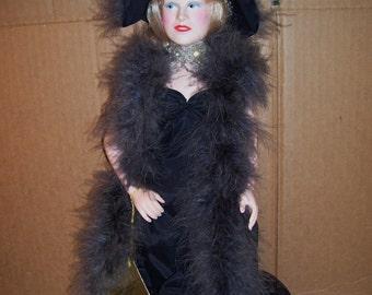 "Vintage Mae West Come Up & See Me Sometime 16"" Vinyl Legends Doll, 1982 Effanbee"