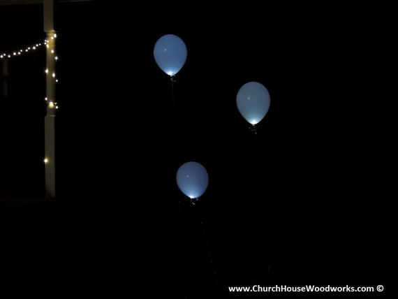 led glow in the dark balloons event lighting wedding party