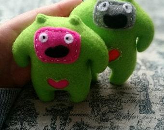 Eenie and Mo Dooberling handmade pocket critters