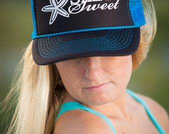 Starfish   Salty Sweet Trucker Hat
