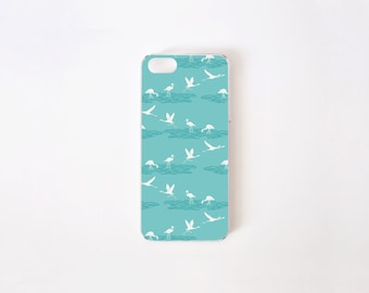 iPhone 5/5s Case - Flamingo Lagoon iPhone Case - Lagoon - Flor de Chile Special Collection