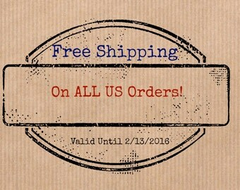 Free Shipping on ALL US Orders! Valid until February 2, 2016!