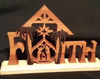 Handmade Faith Nativity