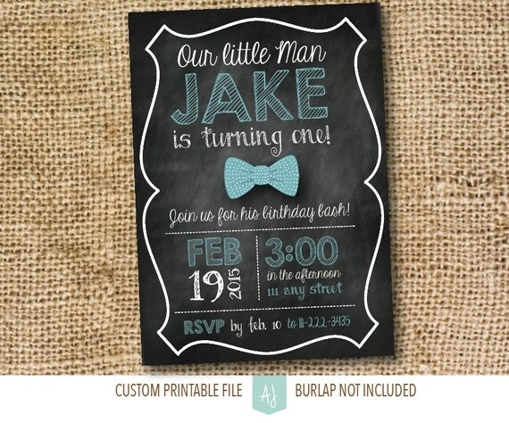 Childs birthday invitation chalkboard birthday party invite il570xn filmwisefo