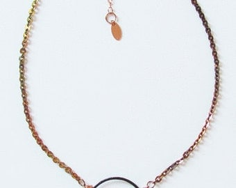 Multi-tone Copper Necklace