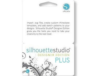 Silhouette Studio Basic Edition to Designer Edition PLUS Digital Upgrade Code- Emailed Worldwide - A 74.99 Value