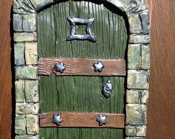 Fairy Door with stars