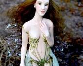 Baeye Dryad Queen - Art Doll - Ooak - Nigrica Art Doll